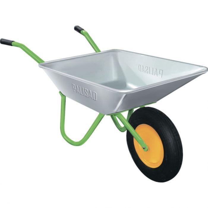 Тачка садовая грузовая 90 кг, объем 65 л/ PALISAD