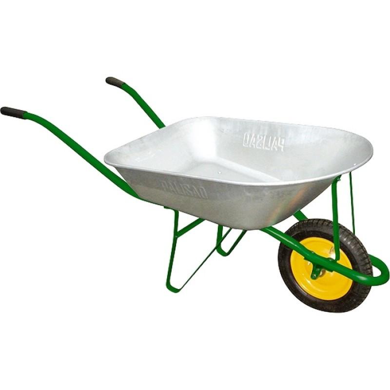 Тачка садовая, грузоподъемность 120 кг, объем 58 л/ PALISAD