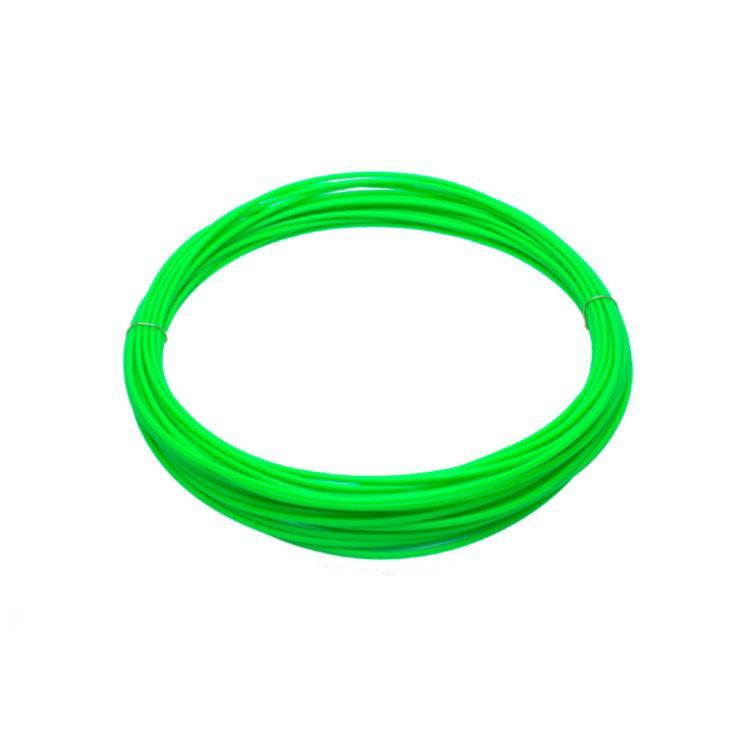 Пластик для 3D принтеров PLA, SUNLU, светящийся, зеленый 1 МЕТР