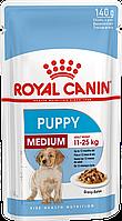 Влажный корм для щенков средних пород от 2-х до 12 месяцев Royal Canin Medium Puppy