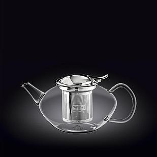 Заварочный чайник с ситечком Wilmax Thermo Glass 650 мл