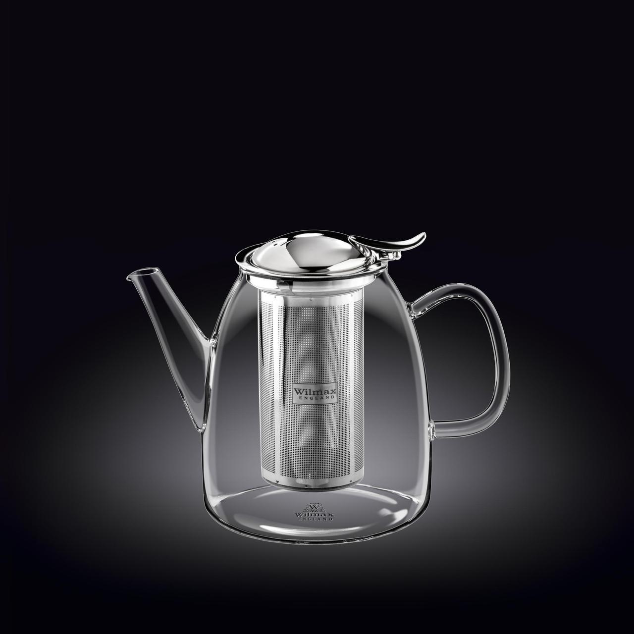 Чайник заварочный 600мл Thermo Wilmax Нержавеющий фильтр