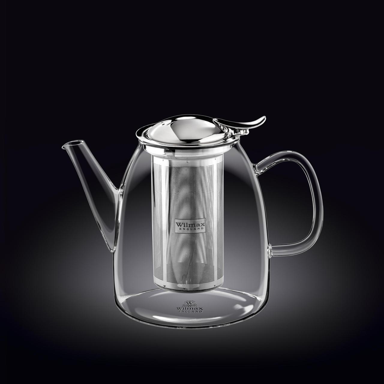 Чайник заварочный 950 мл Thermo Wilmax Нержавеющий фильтр