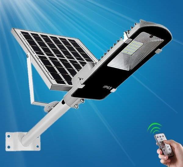 Уличный фонарь на солнечных батарейках 150W