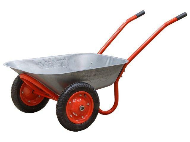 Тачка садово-строительная усиленная грузовая 320 кг, 2- колесная, объем 100 л/ СИБРТЕХ