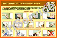Плакаты Первая медицинская помощь при ЧС, фото 1
