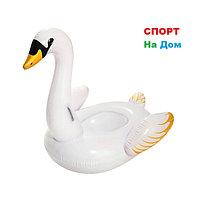 """Надувной плотик """"Лебедь"""" Bestway 41119 (201 х 160 см)"""