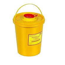 Емкость для сбора острого инструментария класс Б желтая 10 л