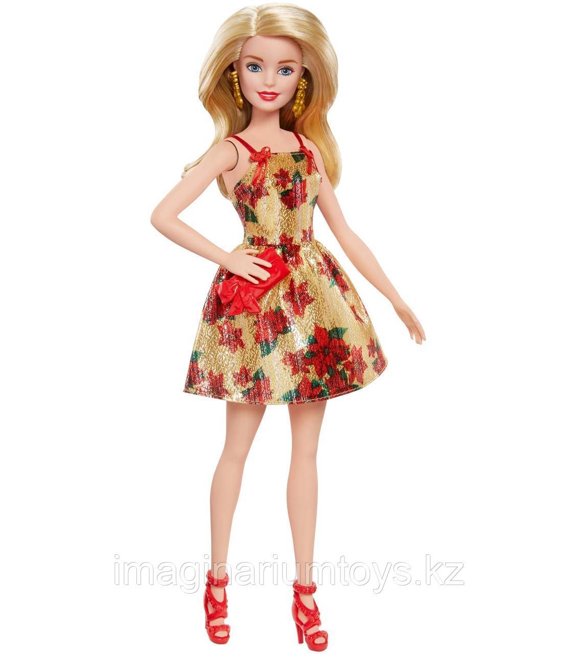 Кукла Barbie 2018 Рождественская Барби