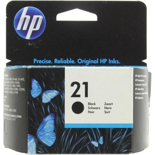 Картридж HP №21 black original
