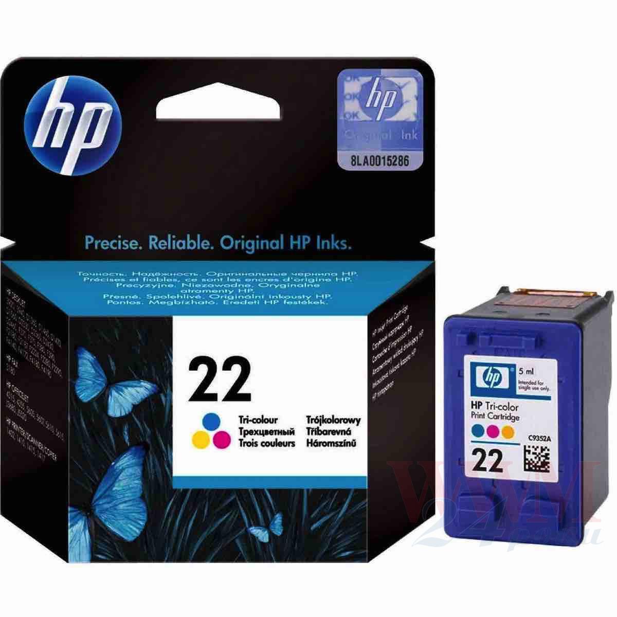 Картридж HP №22 color original