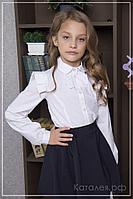 "Блуза для девочки в школу ""АННА"""