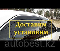 Ветровики на Toyota Camry 50 55,  Ветровики на Тойота Камри 50 55 с хромированным никелем. Оригинал