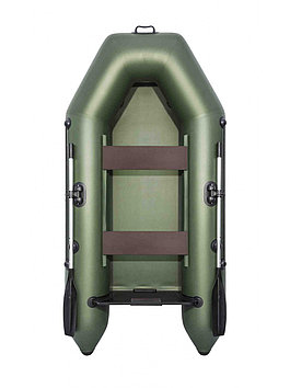 Лодка надувная моторно-гребная плоскодонная Аква 2600, Грузоподъемность: 220кг, Вместимость: 2 чел., Кол-во от
