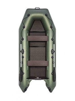 Лодка надувная моторно-гребная плоскодонная Аква 3200 С, Грузоподъемность: 450кг, Вместимость: 3 чел., Кол-во