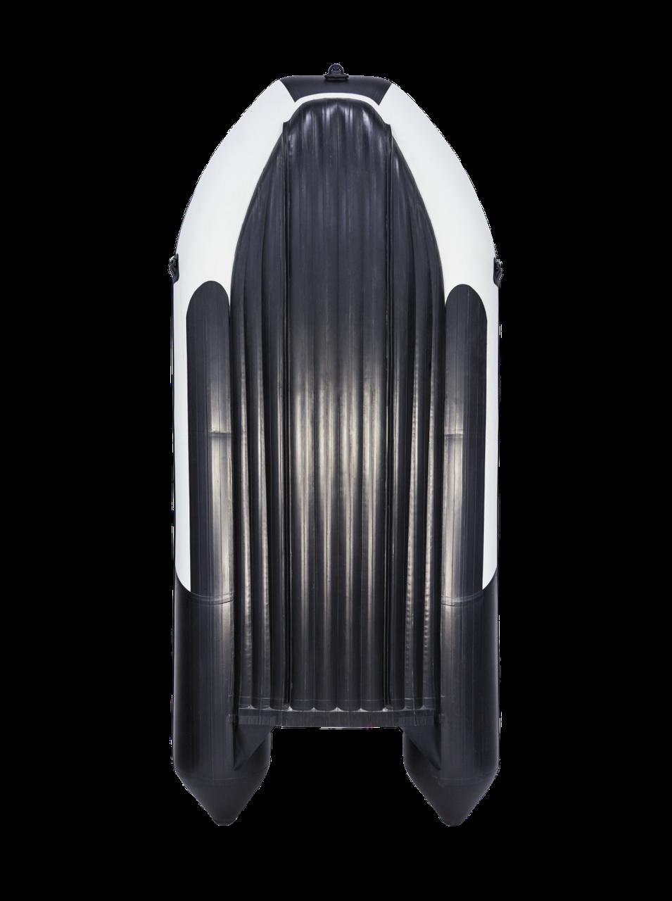 Лодка надувная моторно-гребная килевая Ривьера  4000 НДНД, Грузоподъемность: 900кг, Вместимость: 6 чел., Кол-в