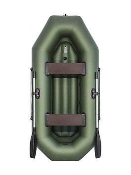 Лодка гребная надувная плоскодонная Аква Оптима 260 НД, Грузоподъемность: 220кг, Вместимость: 2 чел., Кол-во о