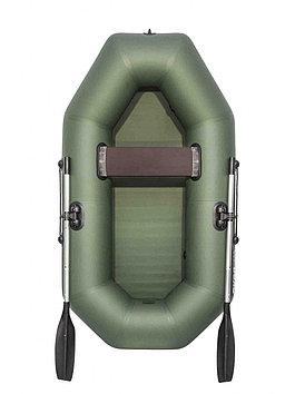 Лодка гребная надувная плоскодонная Аква Оптима 260, Грузоподъемность: 220кг, Вместимость: 2 чел., Кол-во отсе