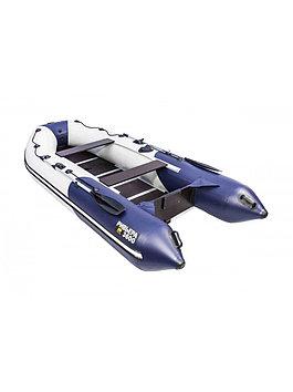 Лодка надувная моторно-гребная килевая Ривьера Компакт 3600 СК, Грузоподъемность: 650кг, Вместимость: 4 чел.,