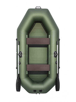 Лодка надувная моторно-гребная плоскодонная Аква Мастер 260, Грузоподъемность: 220кг, Вместимость: 2 чел., Кол