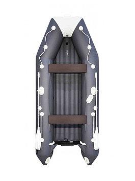 Лодка надувная моторно-гребная килевая Аква 3600 НДНД , Грузоподъемность: 550кг, Вместимость: 4 чел., Кол-во о