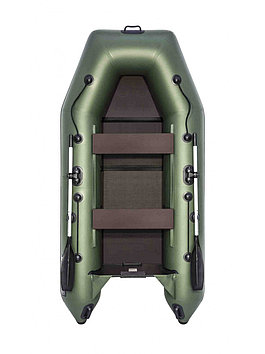 Лодка надувная моторно-гребная плоскодонная Аква 2900 С , Грузоподъемность: 350кг, Вместимость: 2 чел., Кол-во