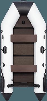 Лодка надувная моторно-гребная килевая Аква 2800 СК, Грузоподъемность: 220кг, Вместимость: 2 чел., Кол-во отсе