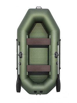 Лодка надувная моторно-гребная плоскодонная Аква Мастер 280, Грузоподъемность: 220кг, Вместимость: 2 чел., Кол