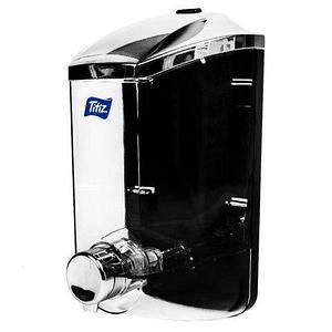 Диспенсер для жидкого мыла Titiz TableStar [400, 1000 мл.] (Хром / 400 мл)
