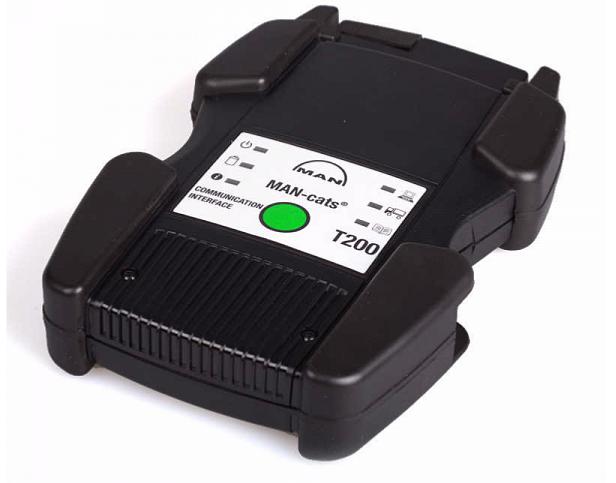 N26817 MAN T200 - дилерский автосканер для техники  MAN полный комплект