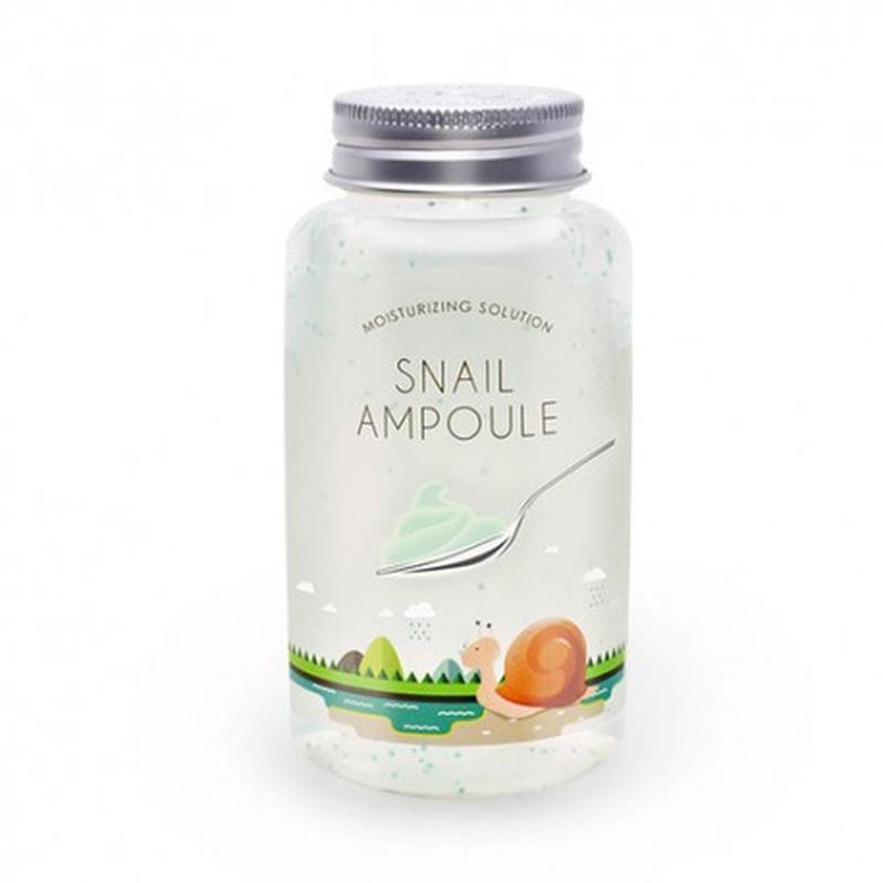 Ампула Esfolio Snail Moisturizing Solution 180ml.
