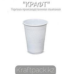 Стакан 200 мл ПП БЕЛЫЙ (100/4000) УпаксЮнити Россия