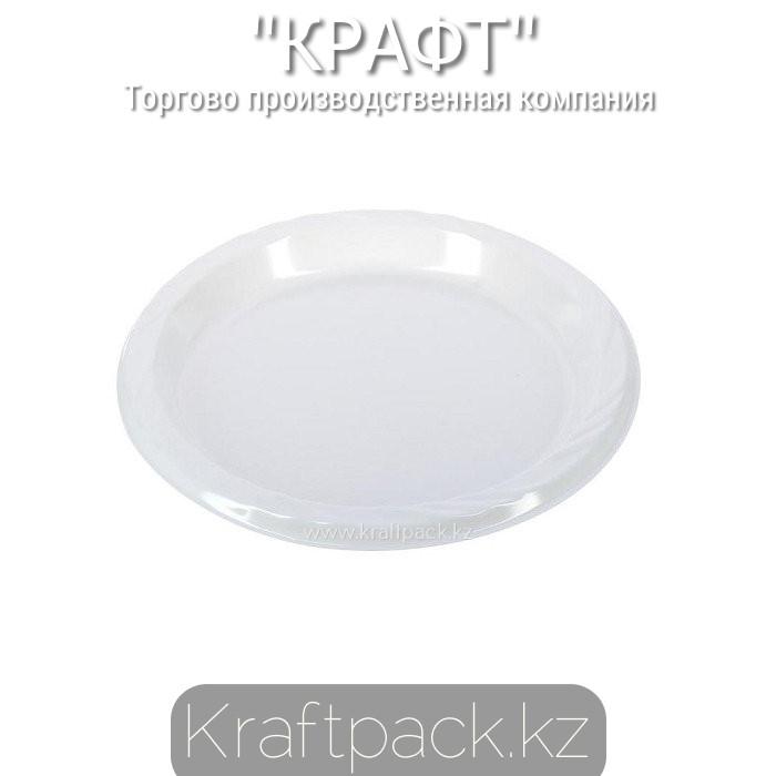 Тарелка d 165 белая (100/2400)