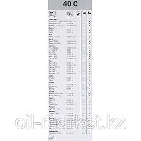 BOSCH Стеклоочиститель ECO каркасный 400mm (40C) , фото 2