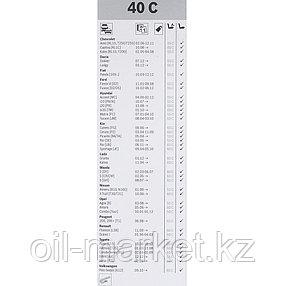 BOSCH Стеклоочиститель ECO каркасный 450mm (45C), фото 2