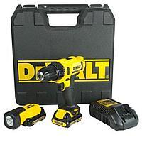 DeWalt, DCD710S2T, 10,8 В, Аккумуляторный шуруповерт