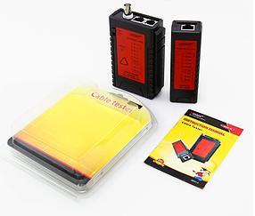 Тестер LAN-сетей RJ45,RJ11,RJ12, BNC, фото 2