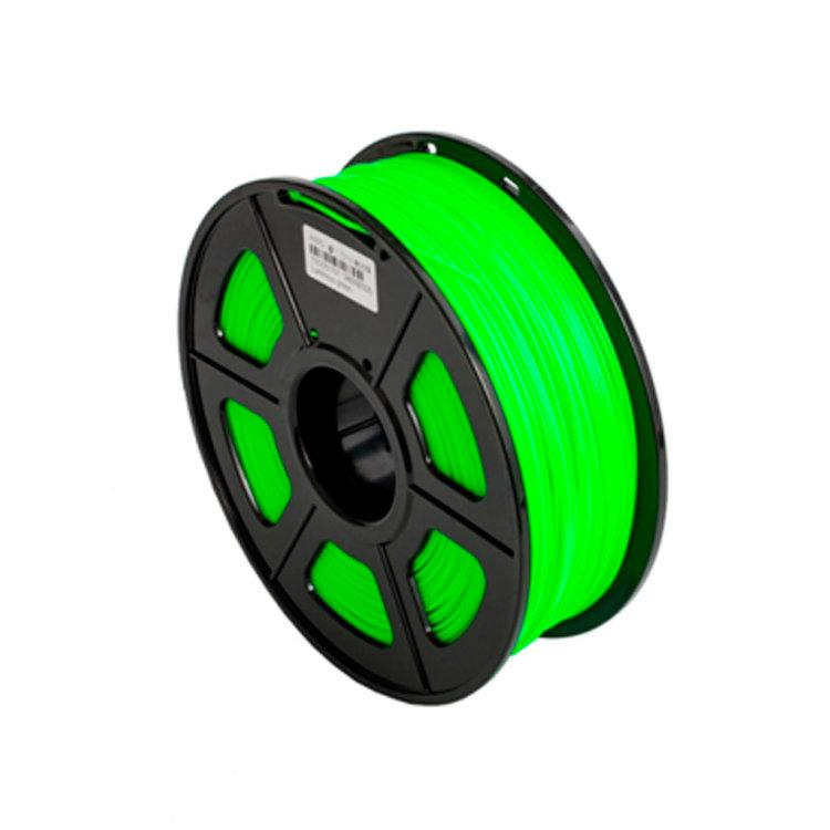 Пластик для 3D принтеров ABS, SUNLU, светящийся, зеленый