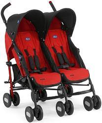 Chicco: Коляска для близнецов Echo Twin Stroller Garnet