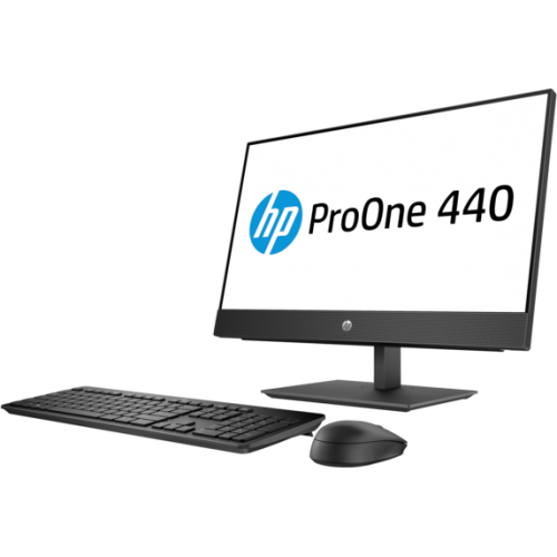 Моноблок HP 3GQ38AV+70620741 ProOne 440 G4 i3-8100T 1TB 8.0G DVDRW i3-8100T / 8GB / 1TB 7200RPM / FreeDOS / DV