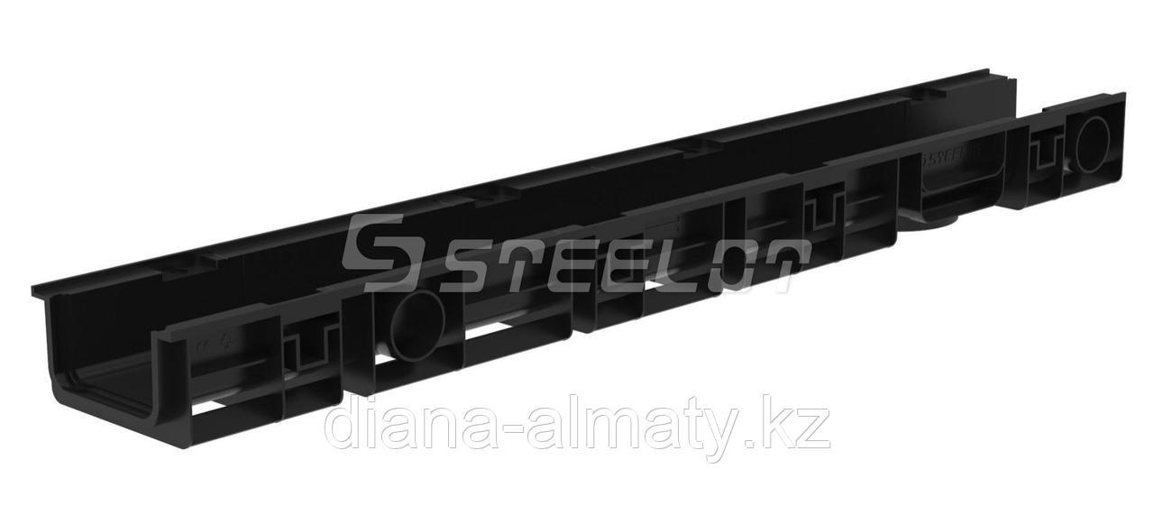 Канал пластиковый с стальной решеткой 125х80х1000мм STEELOT (Стилот) Россия   Whats up 87075705151