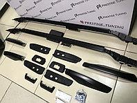 Рейлинги (продольные) на Land Cruiser Prado 150 2010-21 черный цвет, фото 1