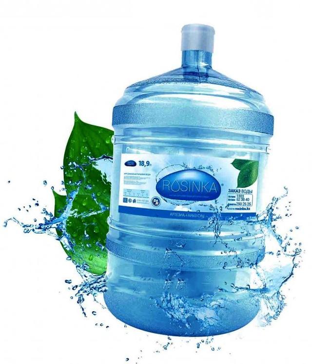 Бутилированная вода Rosinka 19л