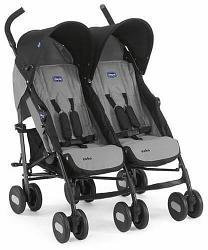 Chicco: Коляска для близнецов Echo Twin Stroller Coal