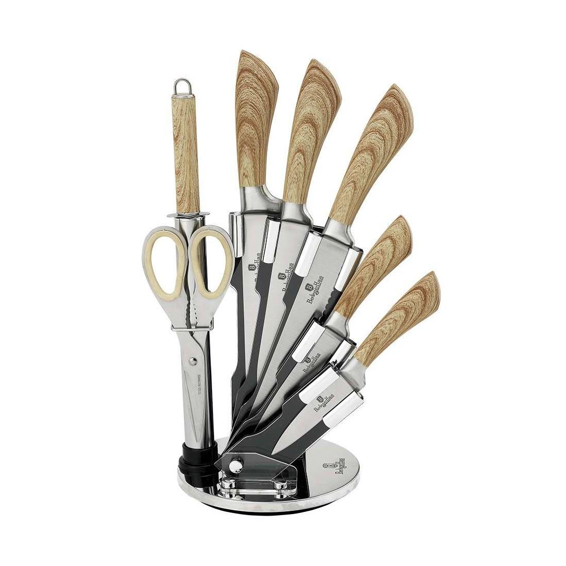 Набор ножей Berlinger Haus Forest Line 8 предметов BH-2291