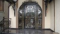 Кованые металлические двери