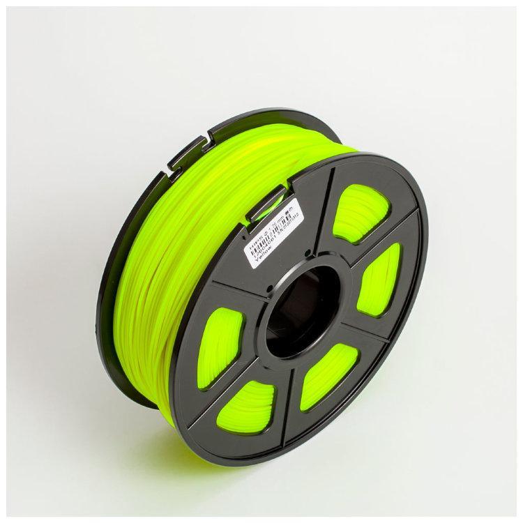 Пластик для 3D принтеров HIPS,SUNLU, светящийся, желтый