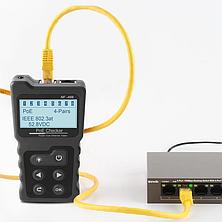 Кабельный PoE тестер (тест мощности, карта распиновки, индентификация стандарта), фото 2