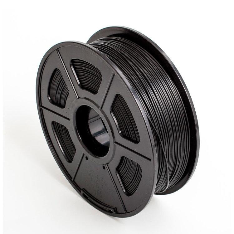 Пластик для 3D принтеров PLA+,SUNLU, черный