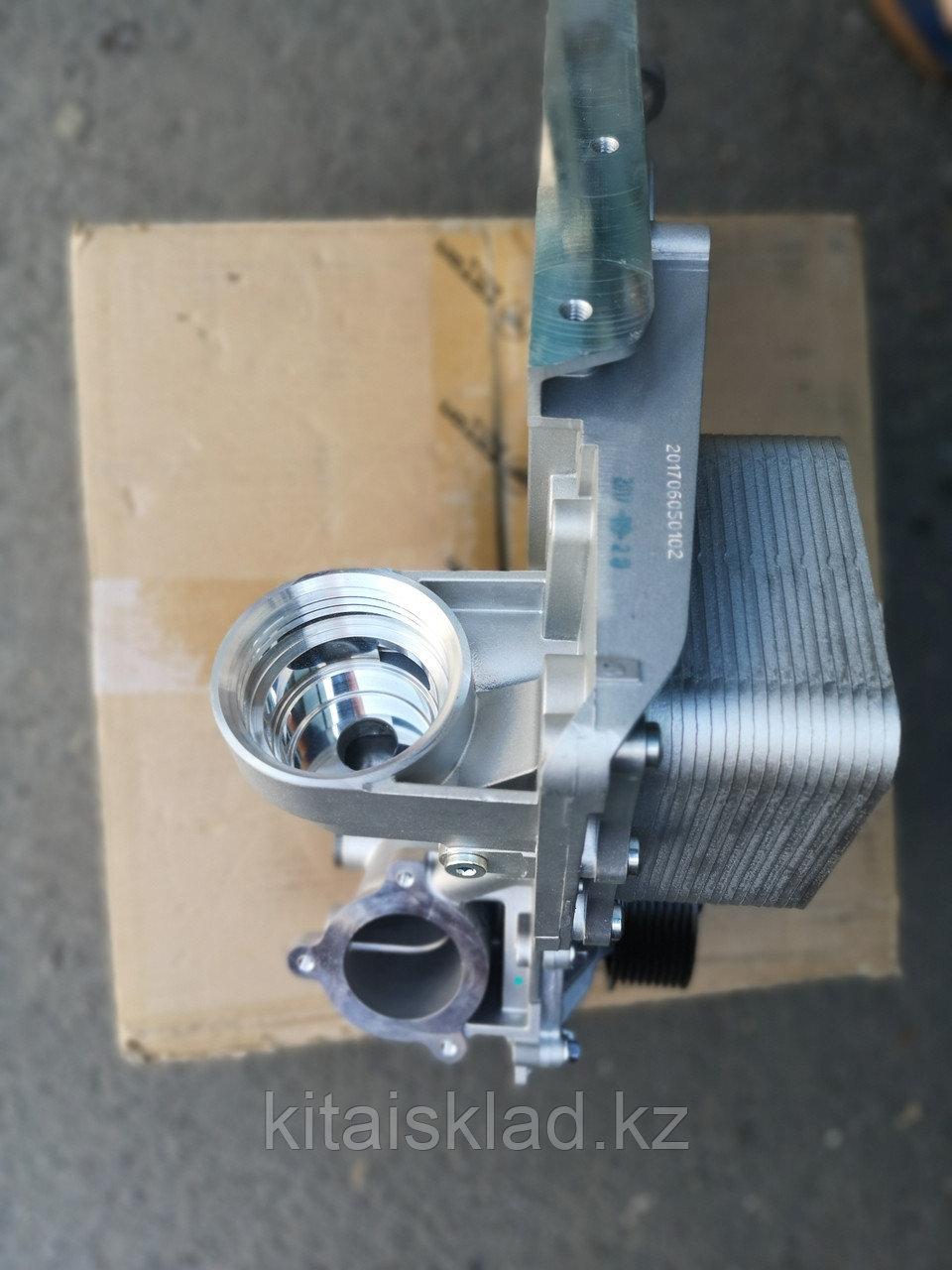 5302884 крышка блока цилиндров передняя в сборе ISF2.8 Cummins